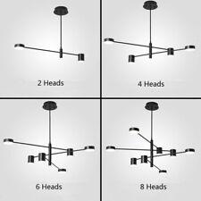 Bar LED Lamp Kitchen Pendant Light Large Chandelier Lighting Black Ceiling Light