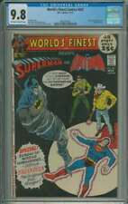WORLD'S FINEST COMICS #207 CGC 9.8 OW/WH PAGES