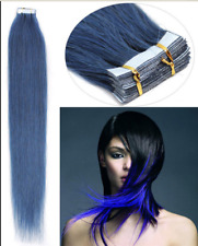 8A Seamless 16-26inch PU Skin Weft Tape in Remy Human Hair Extensions Full Head