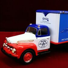 NEW - PEPSI-COLA HYDROPLANE MISS PEPSI 1951 FORD F6 DELIVERY TRUCK - First Gear