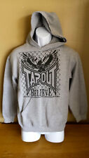 Tapout Believe Hoodie, Sweatshirt, Size Small, No Drawstring