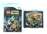 Lego Star Wars The Complete Saga Nintendo Wii 2007 & Indiana Jones 2 Bundle Lot