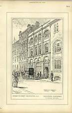 1889, Whitefriars Glassworks, Tg Jackson Architect