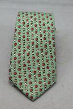 "Vineyard Vines Men's Green ""Bobbing for Apples"" Tie"