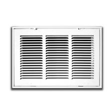 TruAire 25 in. x 20 in. White Return Air Filter Grille