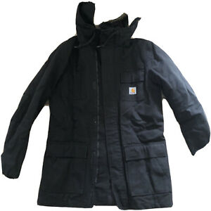 Carhartt WIP Parka Siberia Black XS jacket Lady Hard Wearing tough
