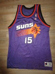 Danny Manning #15 Phoenix Suns Champion NBA Basketball Jersey 48 Vintage