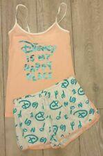 PRIMARK Pyjamas Pjs Cami Vest Top Shorts DISNEY Pyjama Set Ladies Girls Pajamas