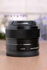 Sony SEL35F18 35mm F/1.8 OSS Lens E mount APS-C w/Caps