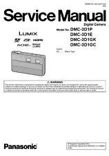 Panasonic Lumix DMC-3D1 Service Manual & Repair Guide