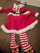 Baby Girls Christmas Xmas Santa Outfit Dress 18-24 Boots Mini Club BNWT