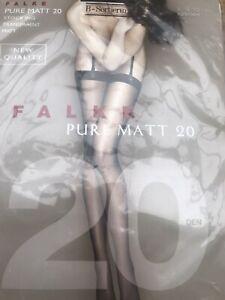Falke Medium Size pure matt 20 Transparent stockings