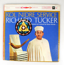 KOL NIDRE SERVICE RICHARD TUCKER COMPOSED BY SHOLOM SECUNDA