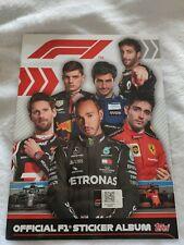 Album figurine FORMULA 1 F1 TOPPS sticker official Nuovo Vuoto Hamilton Vettel