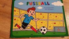 Verkaufe hier das Kiner Fussbal Malbucg