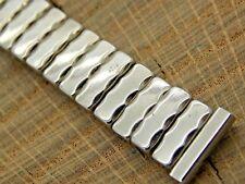 Vintage NOS Unused White Gold Filled Expansion Watch Band 13mm Ladies Bracelet