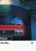 VW Polo Prospekt 1992 1/92 40 S. brochure prospectus Autoprospekt broschyr Auto