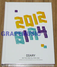 B1A4 2012 OFFICIAL DIARY K-POP SEALED