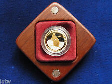 Australia. 2012 Gold - Ten Dollars (1/10oz). Mareeba Rock-Wallaby.. Proof