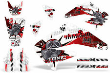 Dirt Bike Graphics Kit Decal Sticker Wrap For Honda CRF450R 2002-2004 TOXIC R W