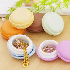 Beauté Boîte de montée pour collier Anneau boucles d'oreilles Macaron