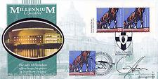 1999 Millennium Book 2 - Benham BLCS Off - Belfast H/S - Signed by EAMONN HOLMES