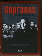 The Sopranos - Complete Second Season (DVD, 2013, 4-Disc Set)- BRAND NEW SEALED!