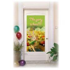 La festa è qui Tinkerbell Porta Banner-Decorazione-DISNEY PRINCIPESSE FATE