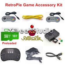 Raspberry Pi 3 Model B 16GB Preloaded RetroPie Game Console Accessories Kit