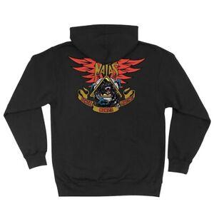 Santa Cruz Skateboards SMA Natas Panther Zip Up Hooded Sweatshirt Medium