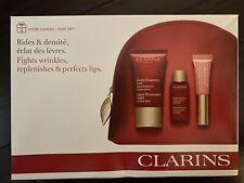 Clarins 4 PC Super Restorative Gift Set Sample Travel Size
