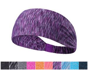 Elastic Sport Hair Band / Headband for Men Women - Sweatband for Gym Yoga Casual