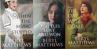BERYL MATTHEWS ___ 3 BOOK SET ___ BRAND NEW ___ FREEPOST UK