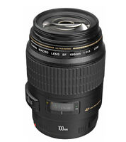 Canon EF Macro 100mm f/2.8 USM MACRO Lens  -Express Shipping
