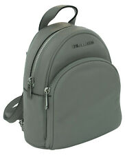Michael Kors Abbey Backpack Bag Ash Grey Pebbled Leather Small RRP £270