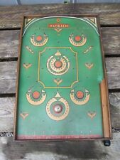 """""""The Rambler"""" Marble PinBall Game Antique Toy Vintage Wood Table top arcade 8690"""