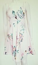 Morning Mist - New With Tags - Champagne Floral Cut Out Dress - Size 8