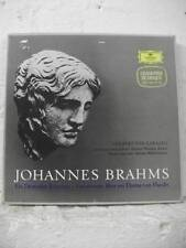 2707 018 BRAHMS A German Requiem JANOWITZ BERLIN PHIL KARAJAN DG STEREO 2LP BOX
