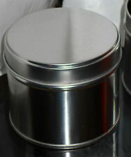 10 x Empty Medium Round Candle Tins 77mm x 64mm holds approx 195g Wax.. FREE P+P
