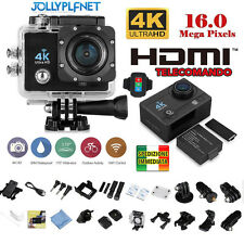 Pro Cam 4K SPORT WIFI ACTION CAMERA ULTRA HD 16MP VIDEOCAMERA SUBACQUEA GOPRO Q3