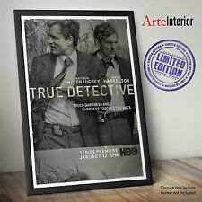 TRUE DETECTIVE - Fine Arte Wall Poster - LIMITED EDITION Alta Risoluzione