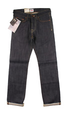 EDWIN ED 47 REGULAR STRAIGHT FIT MENS JEANS UNWASHED RANBOW SELVAGE DENIM