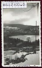Gérardmer ( Vosges ) le lac . photo ancienne . 1933