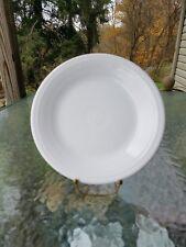 """DINNER PLATE white HOMER LAUGHLIN FIESTA WARE 10.5"""" NEW"""