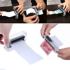 Close-Up Magic Dollar Money Printer Bill Printing Maker Machine Stage Trick Prop