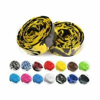 Bicycle Cycling Road Bike Sports Cork Handlebar Wrap Tape Belt + 2 Bar Plugs Kit