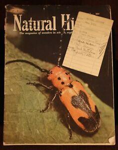 Walt Disney Studio Library 1955 Natural History Mag Ward Kimball Alex Ignatien