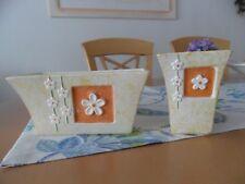 Blumenübertöpfe, 2 Stück, Marke Formano, neu