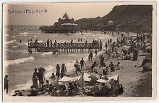 Romania/Movila casinò Spiaggia Beach bagnanti/Romania * Foto-AK per 1928
