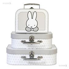 Miffy (NIJNTJE) jouet valise ensemble 3 pièces
